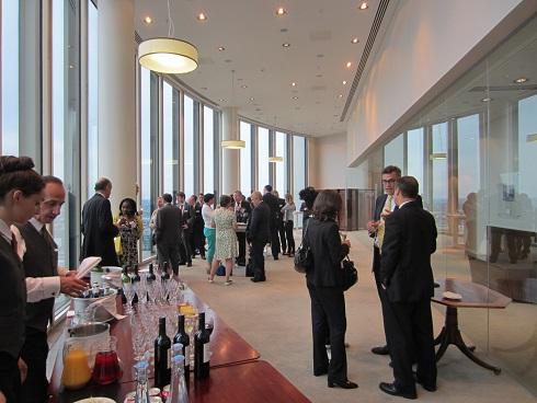 Drinks following BACFI's Cyber Crime Forum