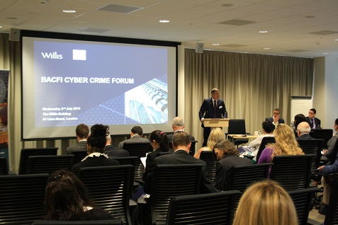 Presentation at BACFI's Cyber Crime Forum