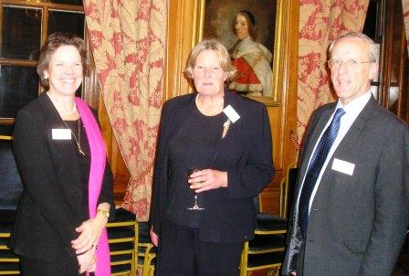 Linda Jackson, Tricia Howse (BACFI Chairman) and Nick Walker