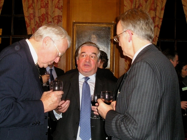 Bernard Kelly, Lecturer Lord Justice Munby and BACFI Treasurer William Sprigge