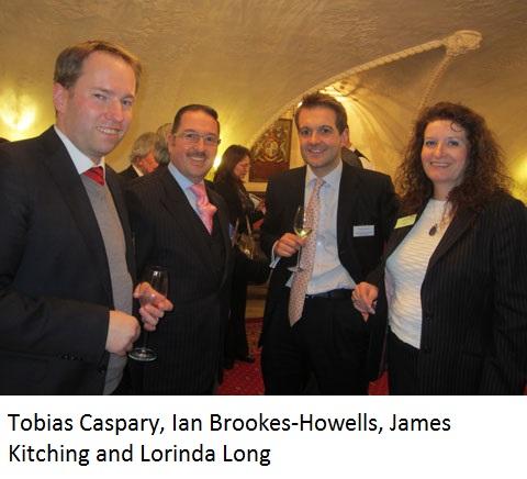 Tobias Caspary, Ian Brookes-Howells, James Kitching and Lorinda Long