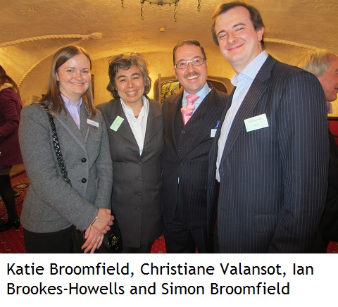 Katie Broomfield, Christiane Valansot, Ian Brookes-Howells and Simon Broomfield