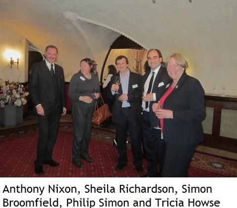 Anthony Nixon, Sheila Richardson, Simon Broomfield, Philip Simon and Tricia Howse