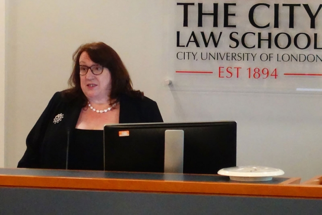 Students' evening at City Law School