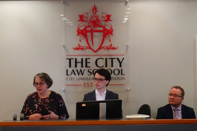 Student's evening at City Law School